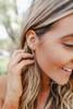 Crescent Moon Gold Earrings