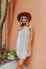 Napa Valley Colorblock Floral Dress