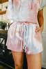 Sunset Tie Dye Shorts