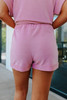 Teagan Dusty Rose Lounge Shorts