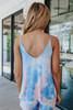Sweet Tart V-Neck Tie Dye Tank