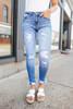 Harbor Breeze Distressed Medium Wash Skinny Jeans
