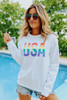 USA Rainbow Pullover