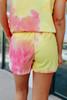 Sugar Rush Tie Dye Lounge Shorts