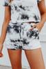 Cosmos Tie Dye Lounge Shorts