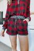 Fireside Lodge Buffalo Plaid Shorts