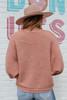 Folklore Cable Chenille Terracotta Sweater