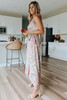 Delilah Dusty Pink Floral Wrap Maxi
