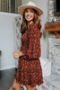 Falling in Love Printed Tiered Dress