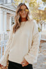 Double Dare Pom Ivory Sweater