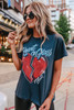 Daydreamer Blondie Heart of Glass Tour Tee