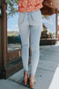 Free People Montana Sunday Blue Skinny Jeans