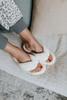 Sleepover Faux Fur White Slippers