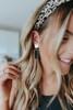 Art Deco Beaded Gold Earrings