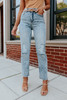 Spice Up Relaxed Acid Light Wash Jeans