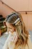 Animal Print Hair Clips