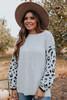 Tenley Leopard Sleeve Sweater