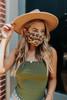 Ivy Leopard Face Mask