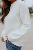 Snow Angel Pom Sweater