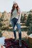 Windy City Raglan Striped Sweater - FINAL SALE