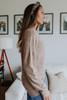 Alpine Point Stone Olive Sweater