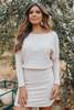 Vivi Dolman Ribbed Dress