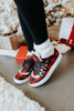 Very G Snuggly Red Plaid Sneakers