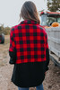 Half Zip Plaid Fleece Pullover