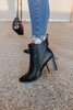 Matchmaker Faux Leather Booties