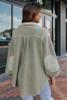 Free People Ruby Olive Shirt Jacket