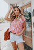Free People Play It Cool Striped Top