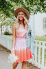 Lost In Paradise Halter Ombre Dress