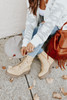 Dirty Laundry Natural Combat Booties