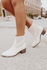 CL by Laundry Core Beige Booties