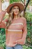 Harvest Multi Stripe Ginger Sweater