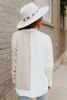 Wildwood Colorblock Ivory/Oatmeal Sweater