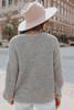 Pembrooke Button Down Grey Cardi