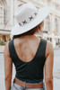V-Neck Lace Detail Black Ribbed Bodysuit