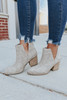Not Rated Tarim Taupe Booties