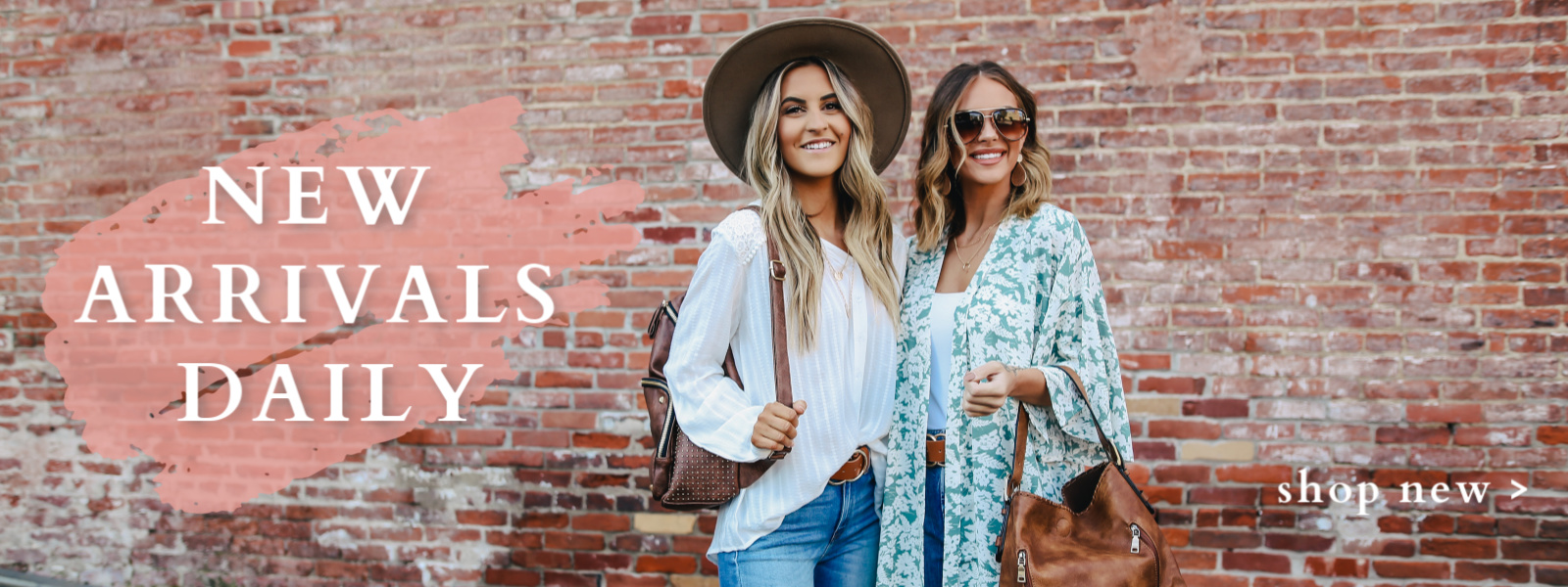 two girls wearing spring boutique styles