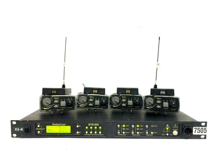 Telex/Radio Com Wireless Intercom System BTR-800/TR-800 B4 Band (One) -7505