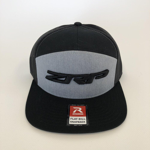 ZRP Snapback Hat - Heather / Black