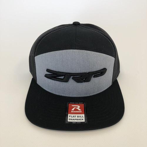 ZRP Snapback Hat - Heather / Black