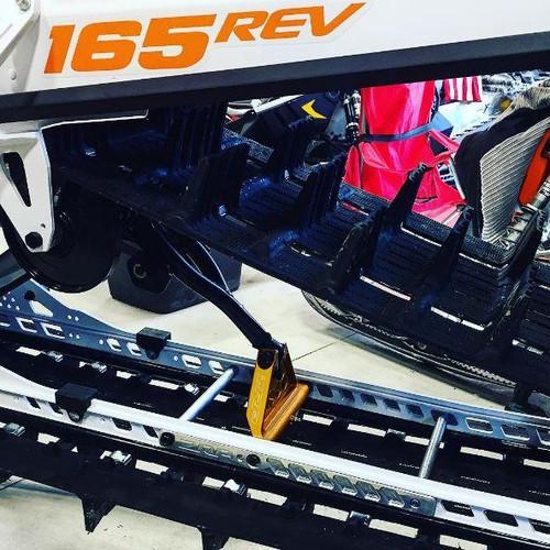 Ski Doo Gen 4 Rail Brace  installed