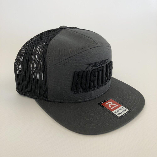 ZRP Tree Hustler Snapback Hat - Charcoal / Black