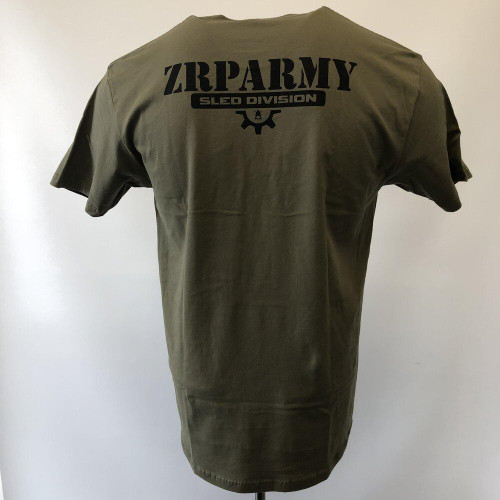 ZRP Army Explore Tee - Military Green