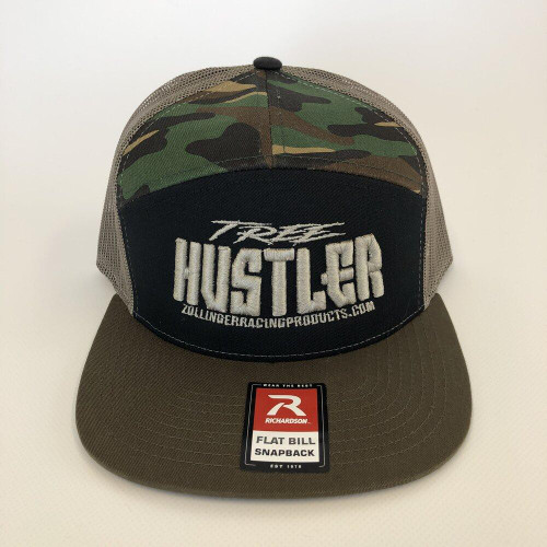 ZRP Tree Hustler Snapback Hat - Camo