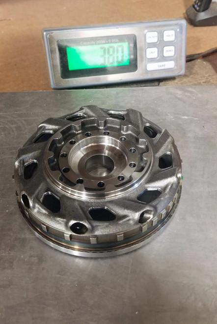 850 Flywheel Machining