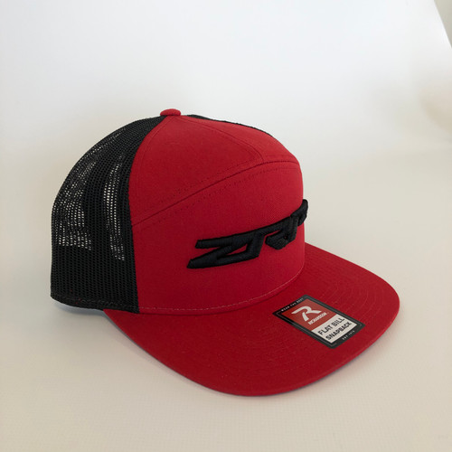 ZRP Snapback Hat - Red / Black