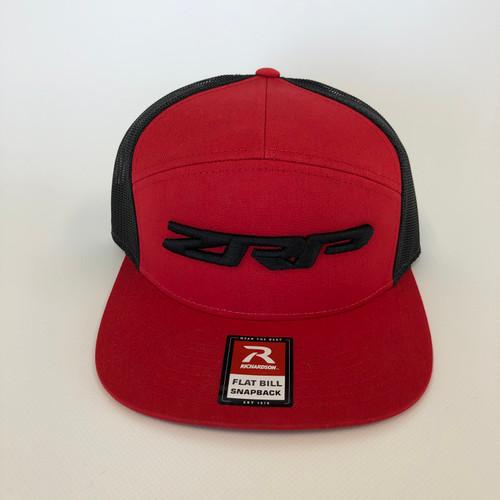 ZRP Snapback Hat - Red / Black